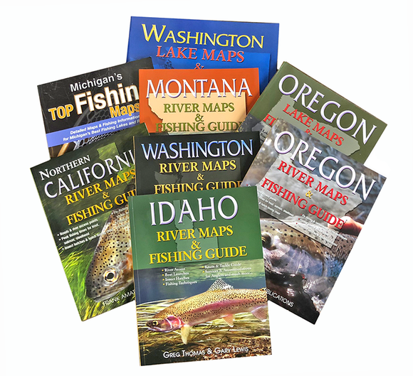 American Fishing Maps & Guides Collection