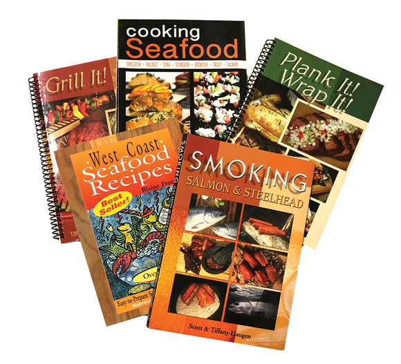 Seafood Cook Book Collection
