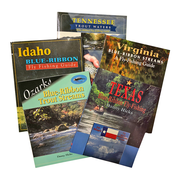 The Blue Ribbon Trout Stream Book Collection