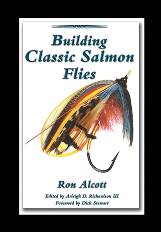 10% off-Gently used Out of print spiral-BUILDING CLASSIC SALMON FLIES by Ron Alcott