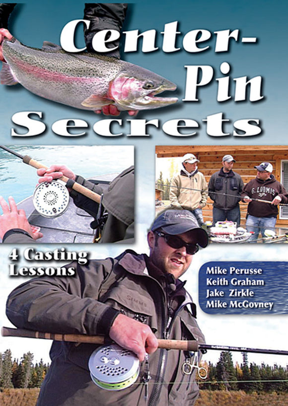 DVD-CENTER PIN SECRETS by Mike Perusse, Keith Graham, Jake Zerkle and Mike McGovney