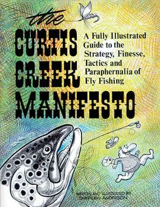 50% off-Gently used-THE CURTIS CREEK MANIFESTO by Sheridan Anderson