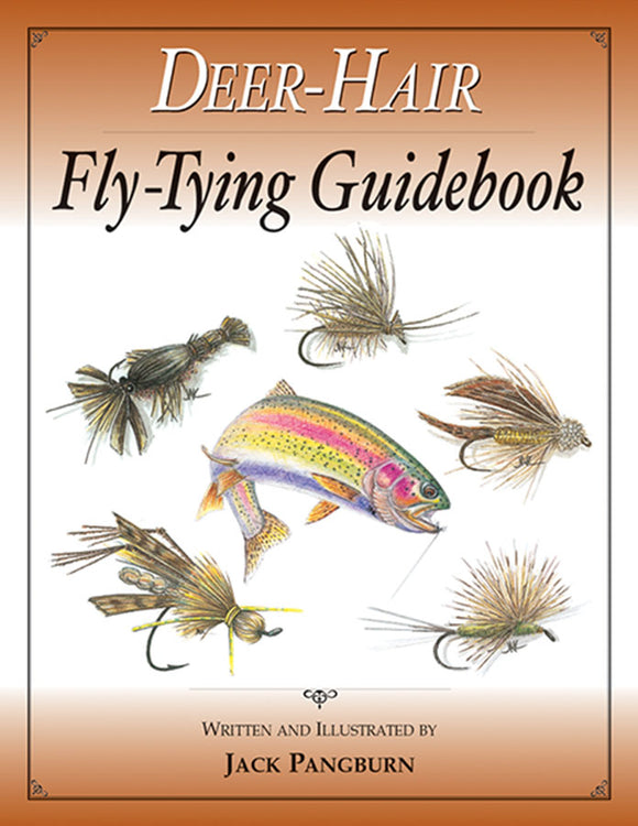 Gently used-DEER-HAIR FLY-TYING GUIDEBOOK by Jack Pangburn