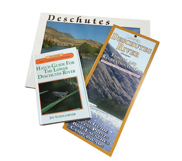THE ULTIMATE DESCHUTES PACK-MAP, BOOK & HATCH GUIDE