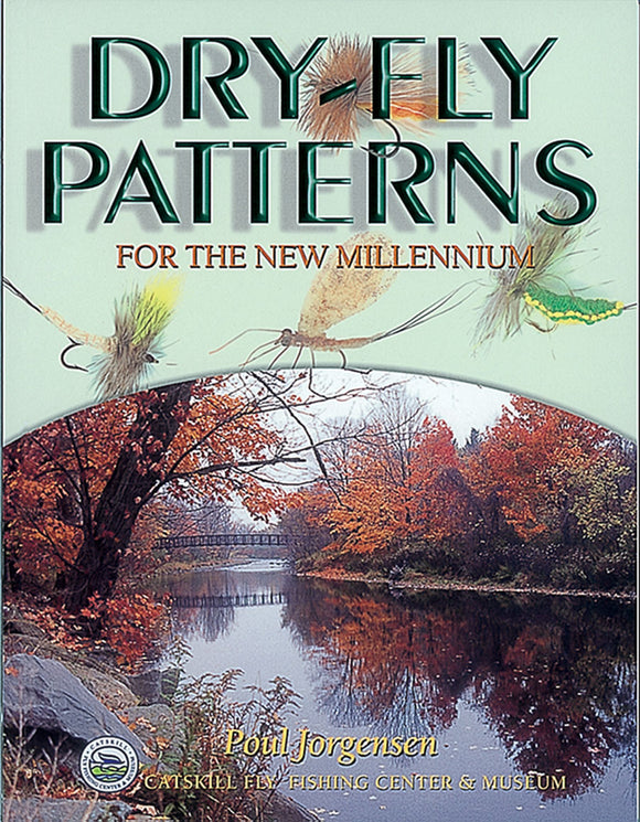 10%off-Gently used HB-DRY-FLY PATTERNS FOR THE NEW MILLENNIUM-by Poul Jorgensen-Catskill Fly Fishing Center & Museum