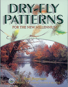 10%off-Gently used Softbound-DRY-FLY PATTERNS FOR THE NEW MILLENNIUM-by Poul Jorgensen-Catskill Fly Fishing Center & Museum