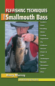 Gently used-FLY-FISHING TECHNIQUES FOR SMALLMOUTH BASS by Harry Murray