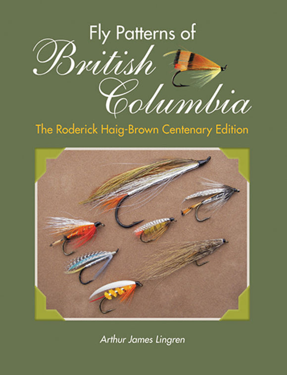 Gently used-FLY PATTERNS OF BRITISH COLUMBIA by Art Lingren