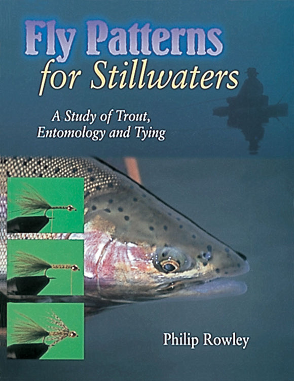 Gently used- FLY PATTERNS FOR STILLWATERS by Philip Rowley