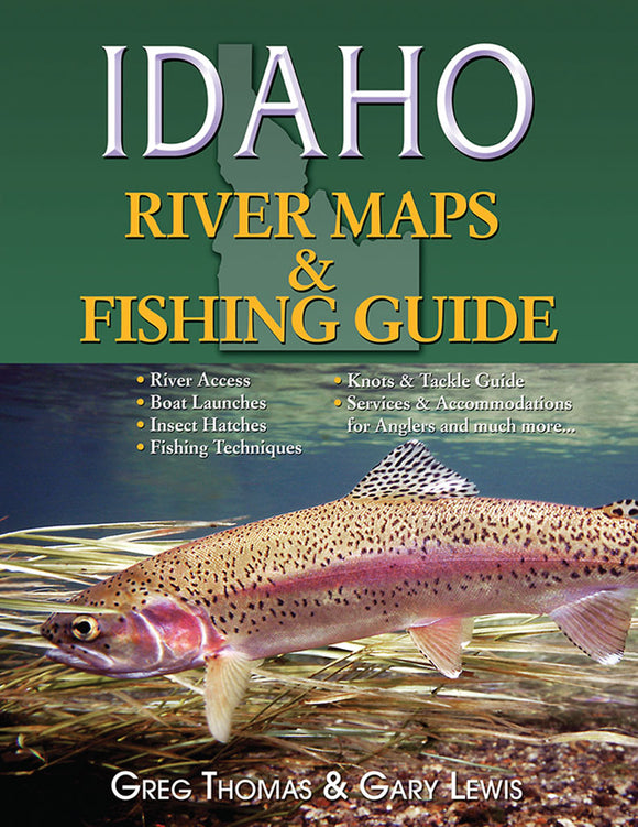 Gently used-IDAHO RIVER MAPS & FISHING GUIDE