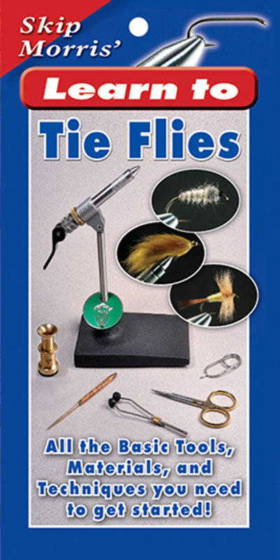 Gently used-OUT OF PRINT-LEARN TO TIE FLIES MINIBOOK by Skip Morris