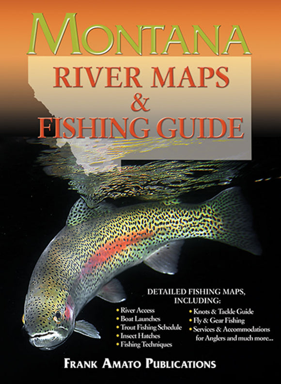 Gently used- MONTANA RIVER MAPS & FISHING GUIDE