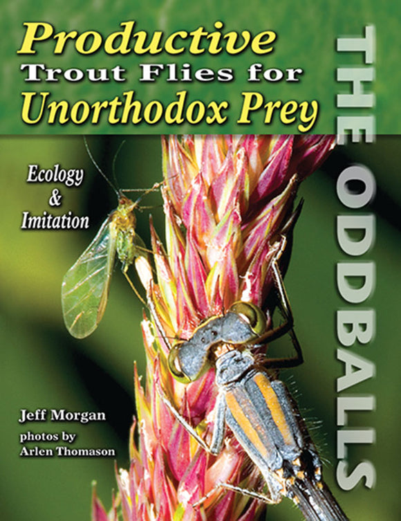 Gently used-PRODUCTIVE TROUT FLIES FOR UNORTHODOX PREY by Jeff Morgan