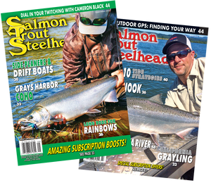 Salmon Trout Steelheader | 1 Year Subscription