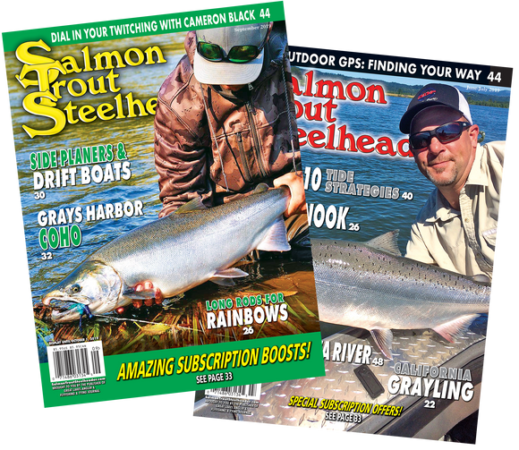 Salmon Trout Steelheader | Year Subscription(s)