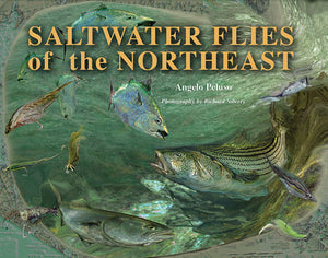 Gently used HB-SALTWATER FLIES OF THE NORTHEAST by Angelo Peluso