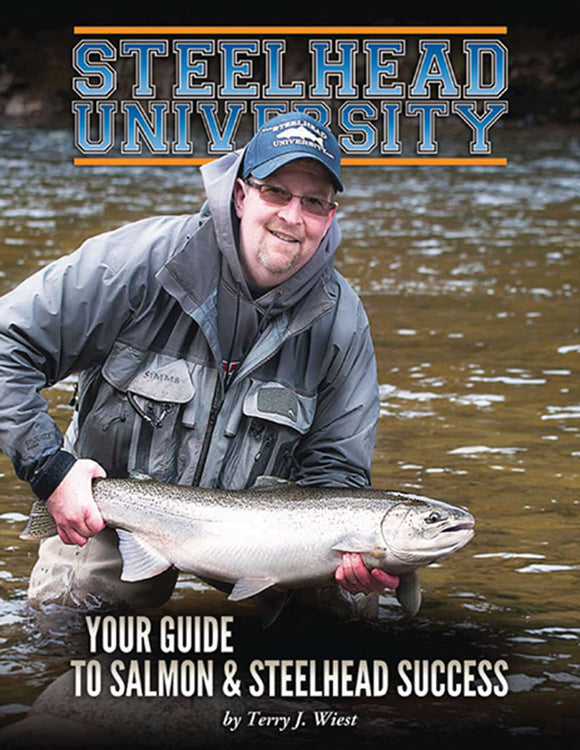 Gently used-STEELHEAD UNIVERSITY by Terry J. Wiest