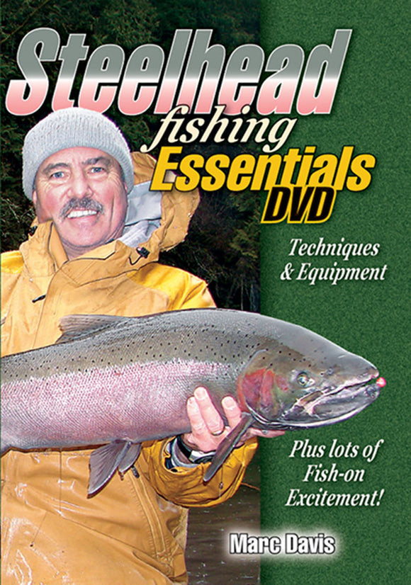 DVD-STEELHEAD FISHING ESSENTIALS by Marc Davis
