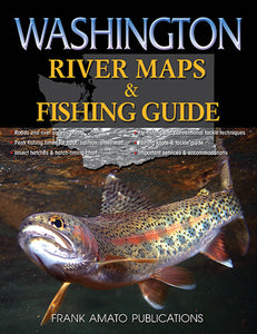 50% off-Gently used-WASHINGTON RIVER MAPS AND FISHING GUIDE