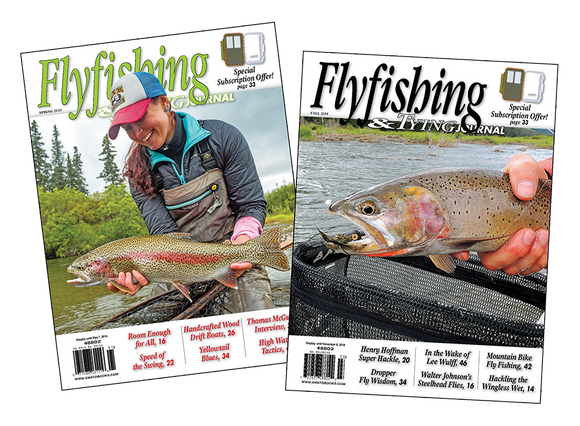 Flyfishing & Tying Journal | Quarterly Year Subscription