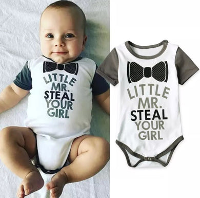 Little Mr Steal Your Girl Onesie