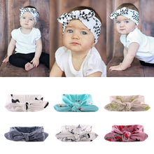 Load image into Gallery viewer, 6 Pack Girls Adjustable Knotted Head Band