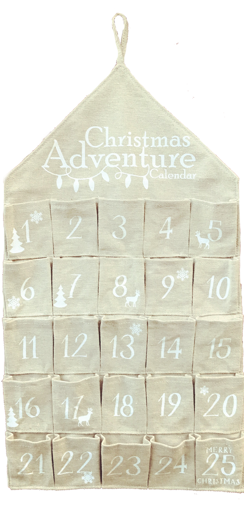 Family Christmas Adventure Calendar & Activity Cards