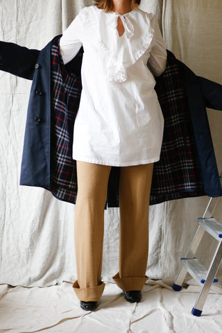 Burberry car coat