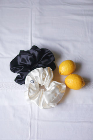 A Pair of Satin Scrunchies