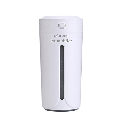 Air Humidfier USB Air Purifier Freshener with LED Lamp
