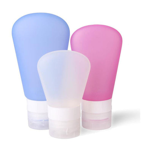 Portable Soft Silicone Travel bottles Set