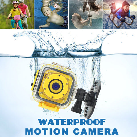 Children Sports Camera Sports Underwater Waterproof