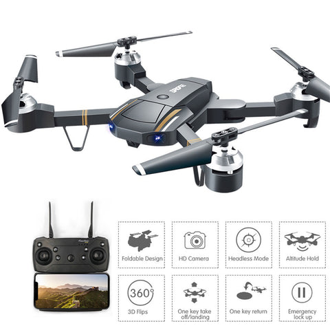 HD Camera Wifi FPV RC Drone Selfie Quadcopter
