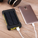 Dual USB Solar Power Charger Waterproof