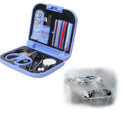 Travel Essentials sewing kit Sewing Box Home sewing kit Box Mini Portable