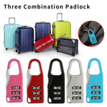 Password Lock Coded Padlock  Keyless Lock Suitcase Luggage