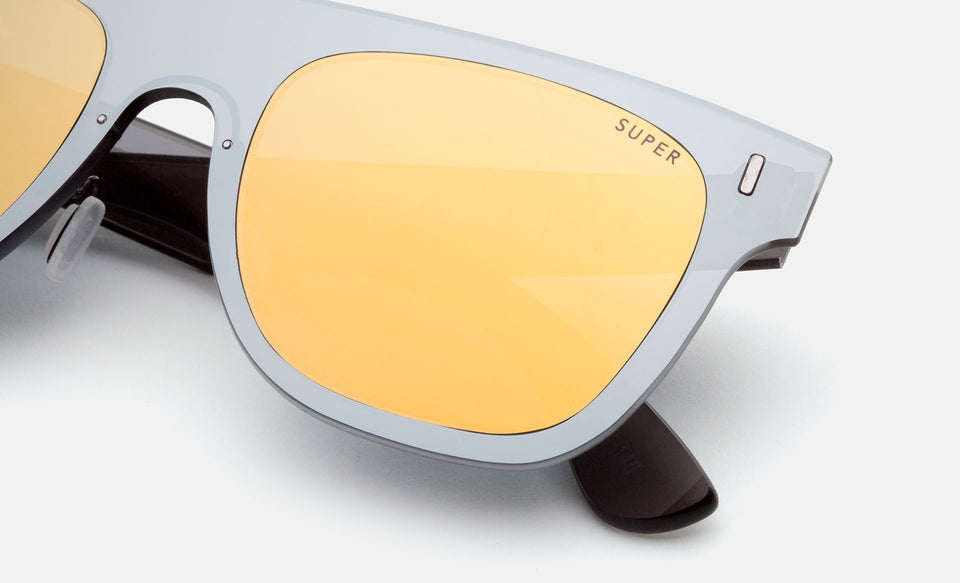 Duo Lens Flat Top Gold Silver