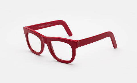 Ciccio Red Clear Lens