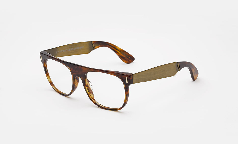 Flat Top Francis Optical Havana