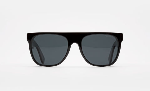 Flat Top Black Polarized Lens