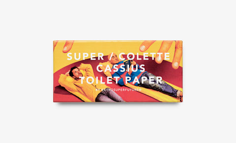 SUPER / CASSIUS / TOILET PAPER for Colette
