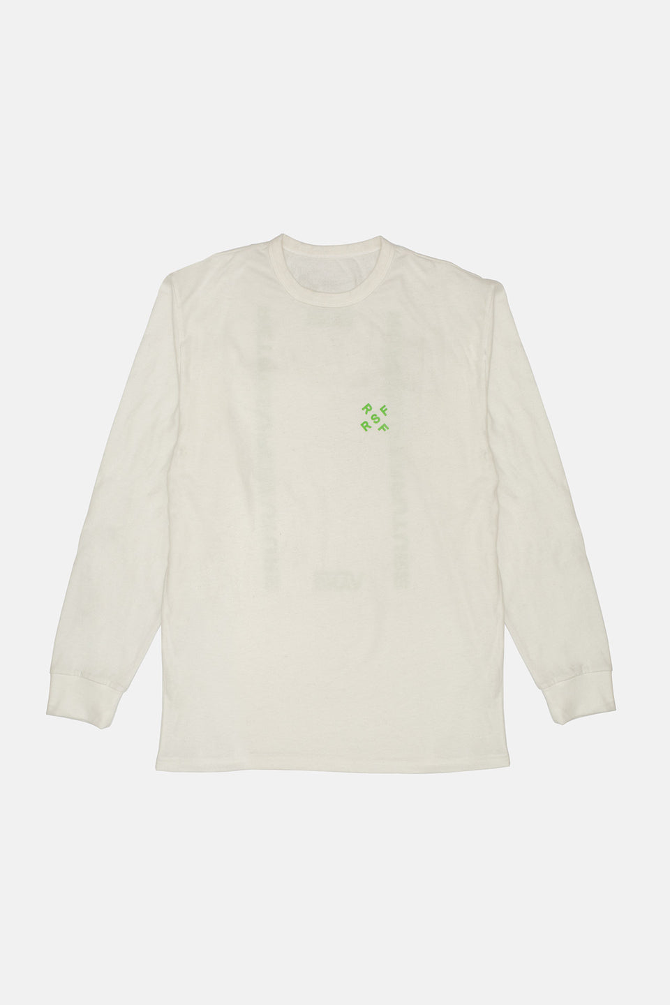Long Sleeve Tee Lime VANS VAULT