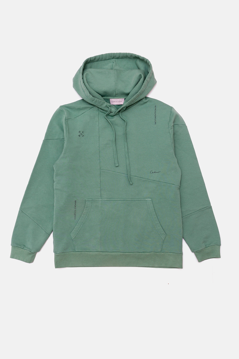 RSF x DC Deconstructed Hoodie Mint
