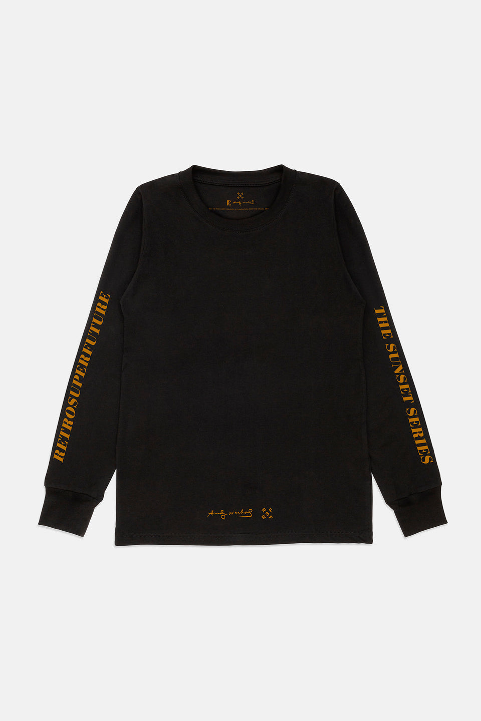 AW Longsleeve Black Yellow