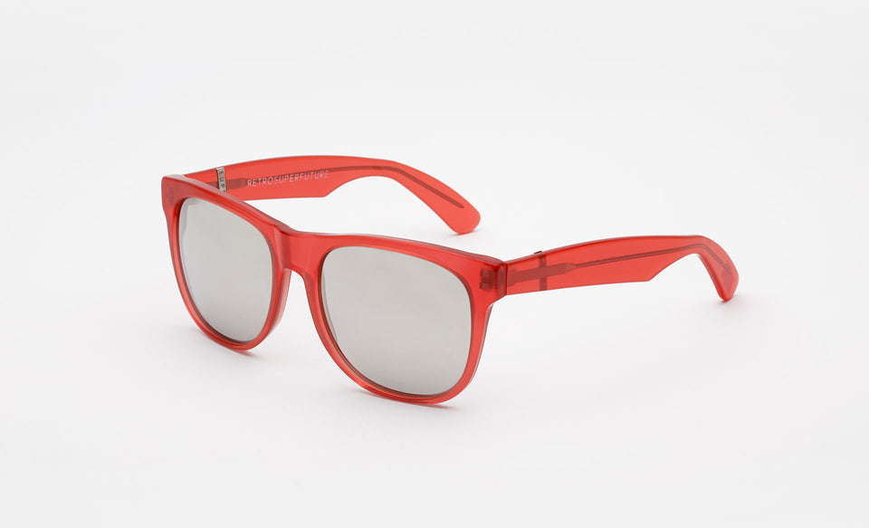 Classic Opal Red Silver Lens