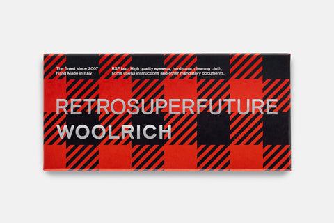 Flat Top Red WOOLRICH