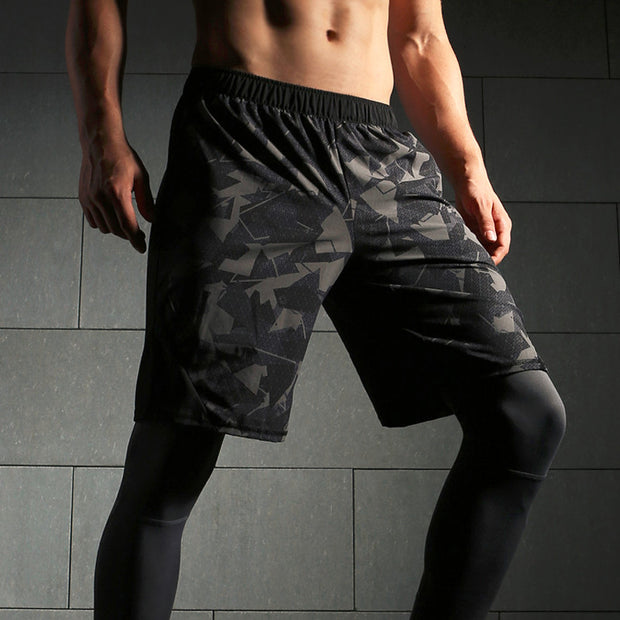 Quick Dry Mens Camouflage shorts