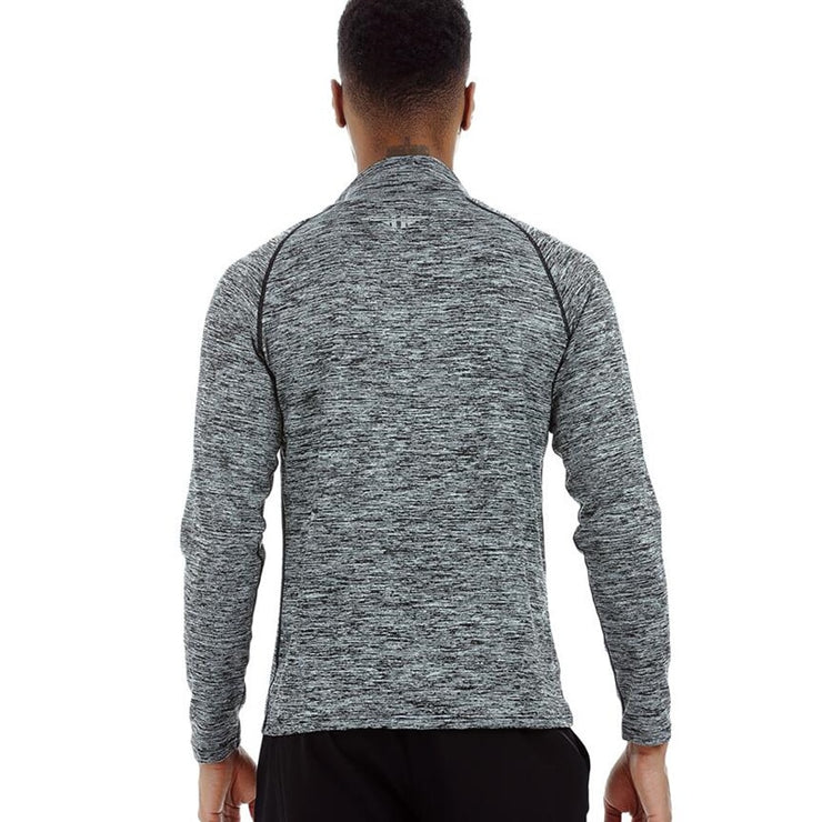 Turtle Neck Long Sleeve Sports T-shirt