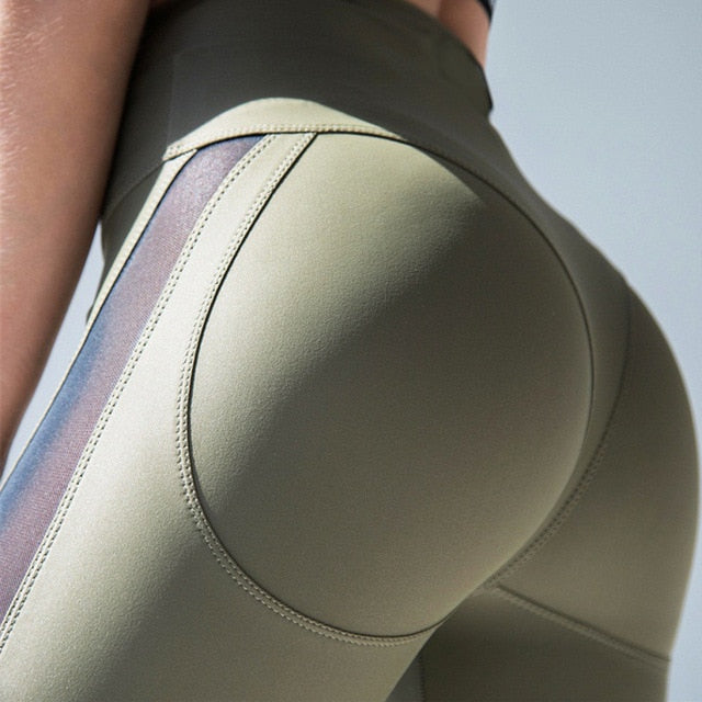 Fitness Elastic Leggings