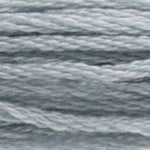 blue gray embroidery floss